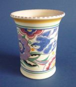 Poole Pottery PB Pattern 'Bluebird' Vase c1934